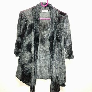 Tie dye shrug throw over. Women's size medium